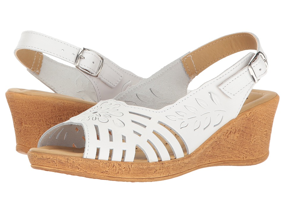 Spring Step - Udoban (White) Women's Shoes