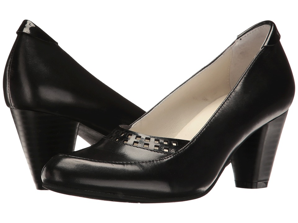 Spring Step - Navis (Black) Women's Shoes