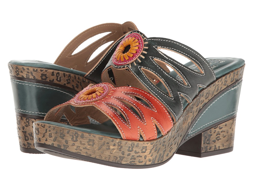 L'Artiste by Spring Step - Beverly (Teal) Women's Shoes