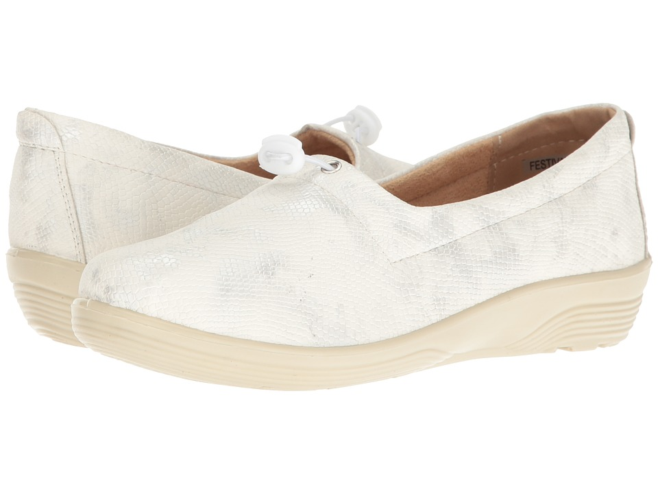 Spring Step - Festival (Silver) Women's Shoes