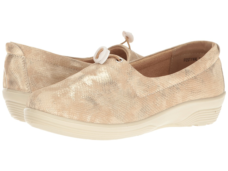 Spring Step - Festival (Soft Gold) Women's Shoes