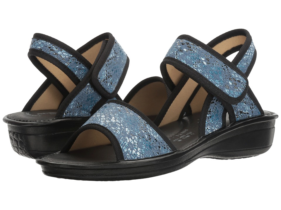 Spring Step - Maydella (Blue Multi) Women's Shoes