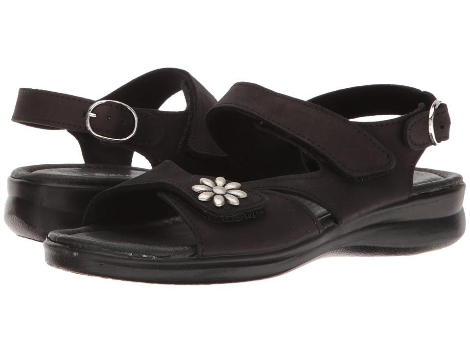 Spring Step - Mukava (Black Nubuck) Women's Shoes