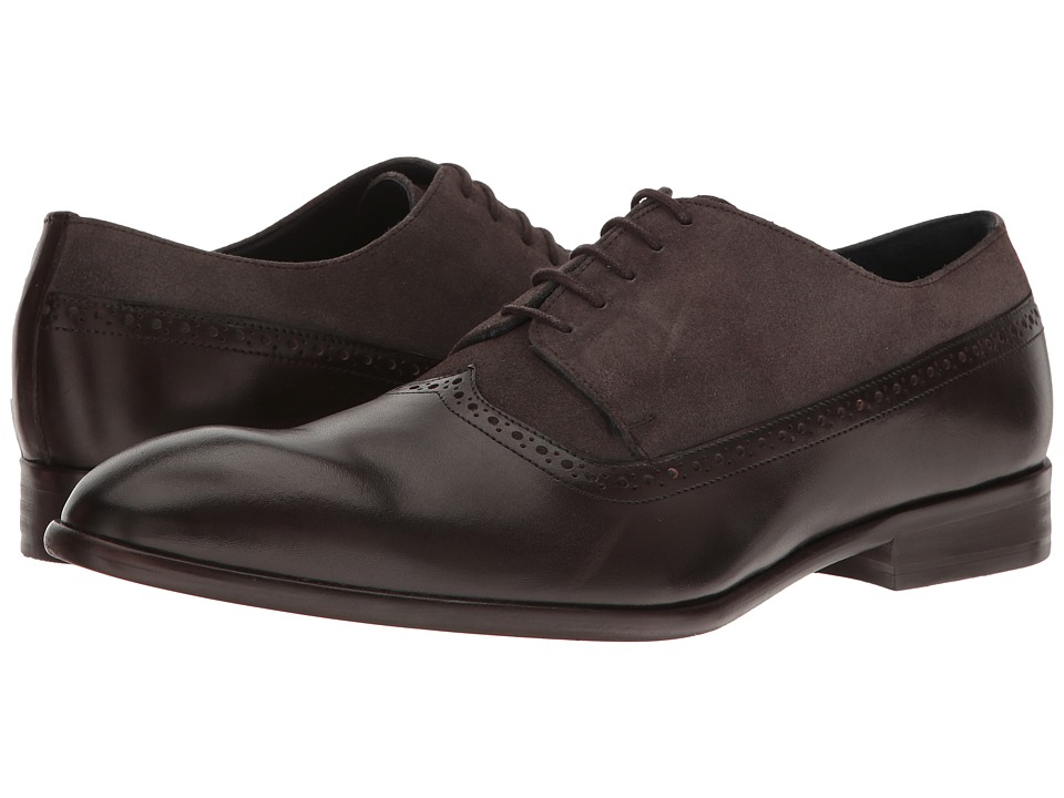 Messico - Palmiro (Brown Leather/Grey Suede Leather) Men's Shoes