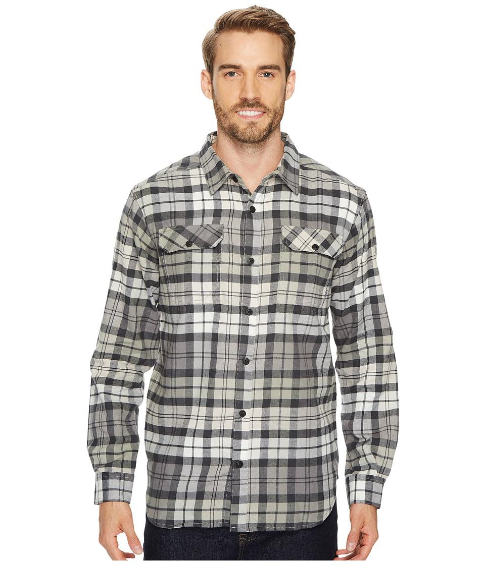 Columbia Flare Guntm Flannel III Long-Sleeve Shirt (Shark Blanket Plaid) Men