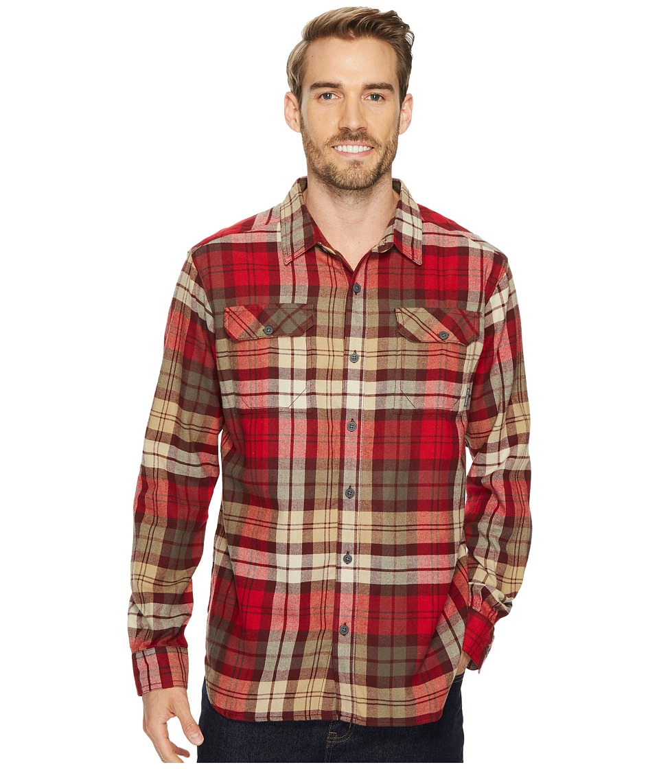 Columbia Flare Guntm Flannel III Long-Sleeve Shirt (Rocket Blanket Plaid) Men