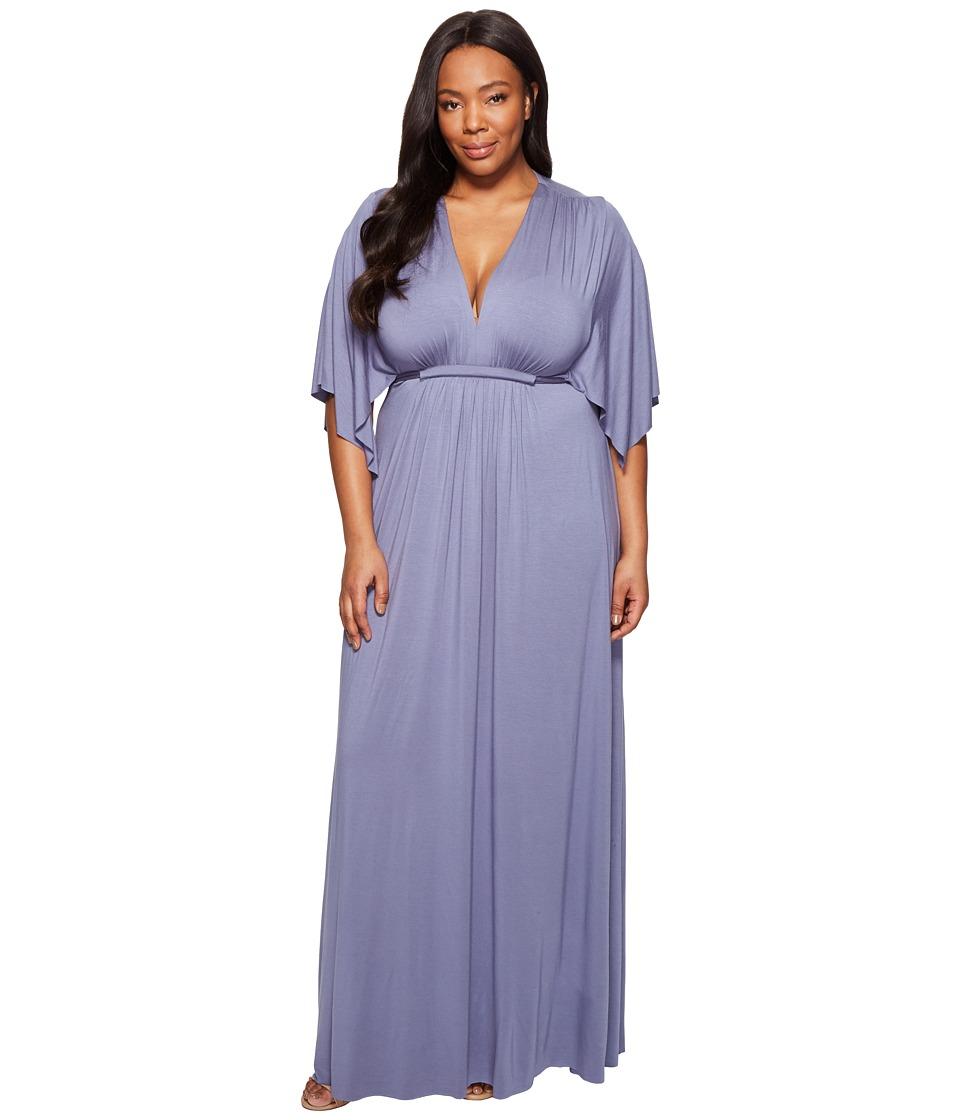 Rachel Pally - Plus Size Long Caftan Dress White Label (Nimbus) Women's Dress