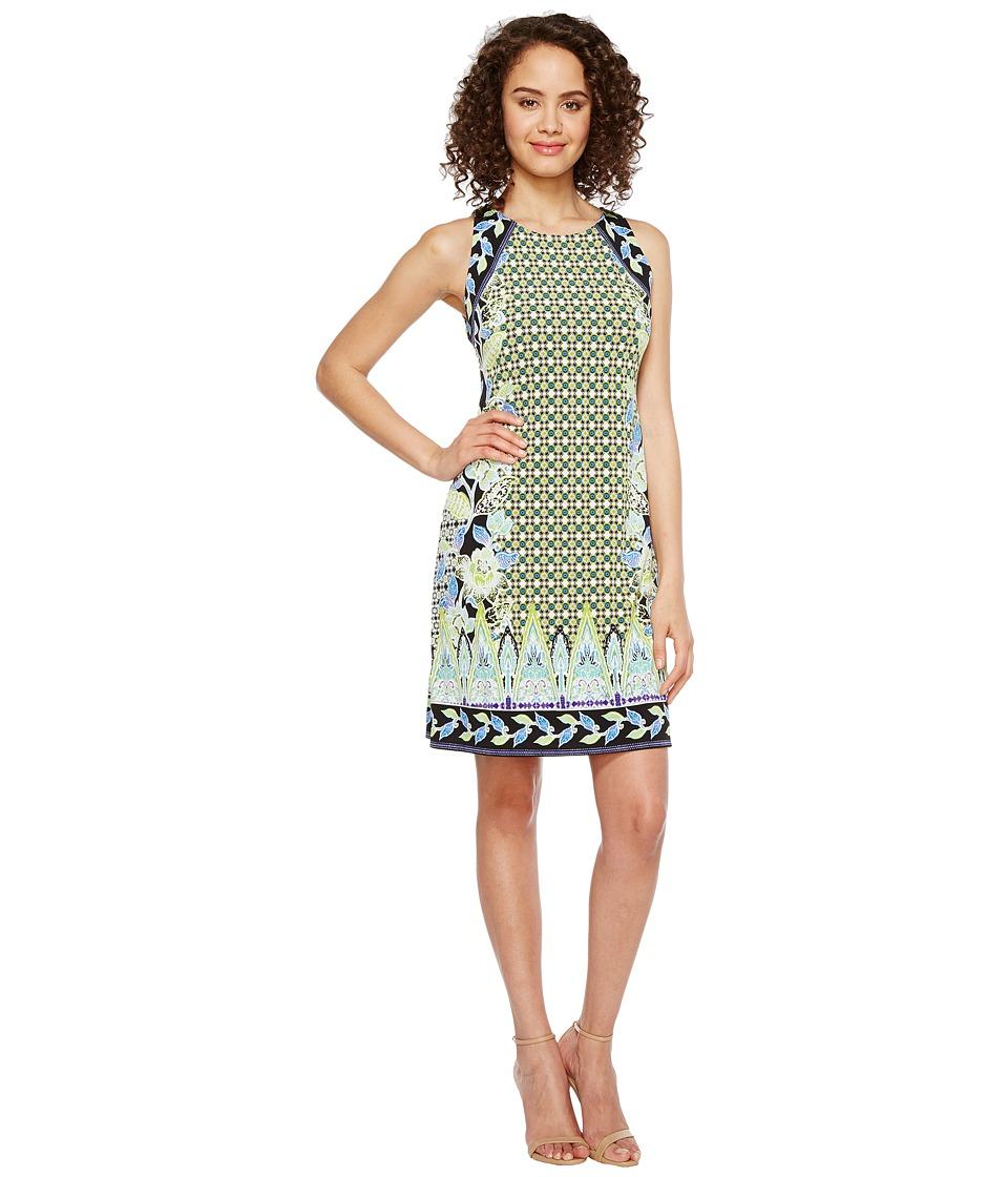 Hale Bob Sunshine Daze Microfiber Jersey Dress (Lime) Women