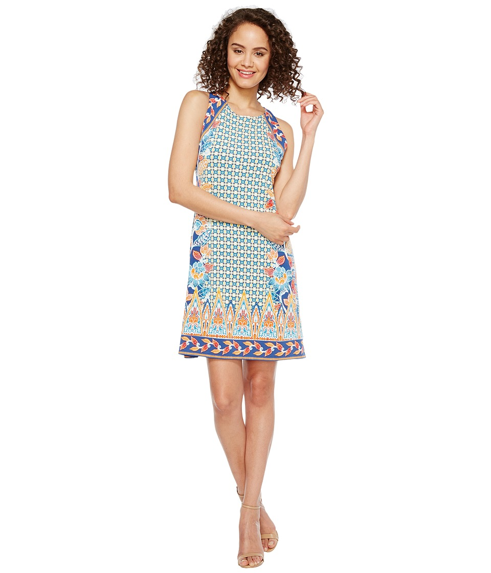 Hale Bob - Sunshine Daze Microfiber Jersey Dress (Orange) Women's Dress