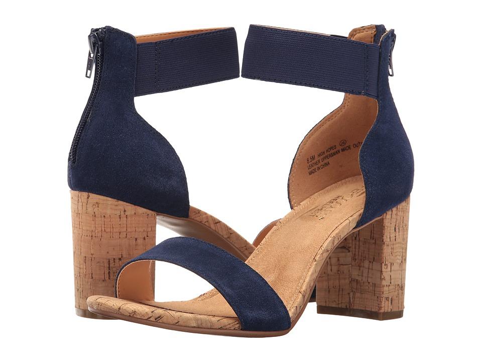 Aerosoles - High Hopes (Blue Combo) Women's Sling Back Shoes
