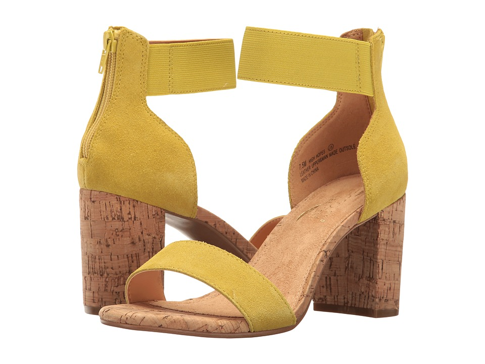 Aerosoles - High Hopes (Mid Yellow Combo) Women's Sling Back Shoes