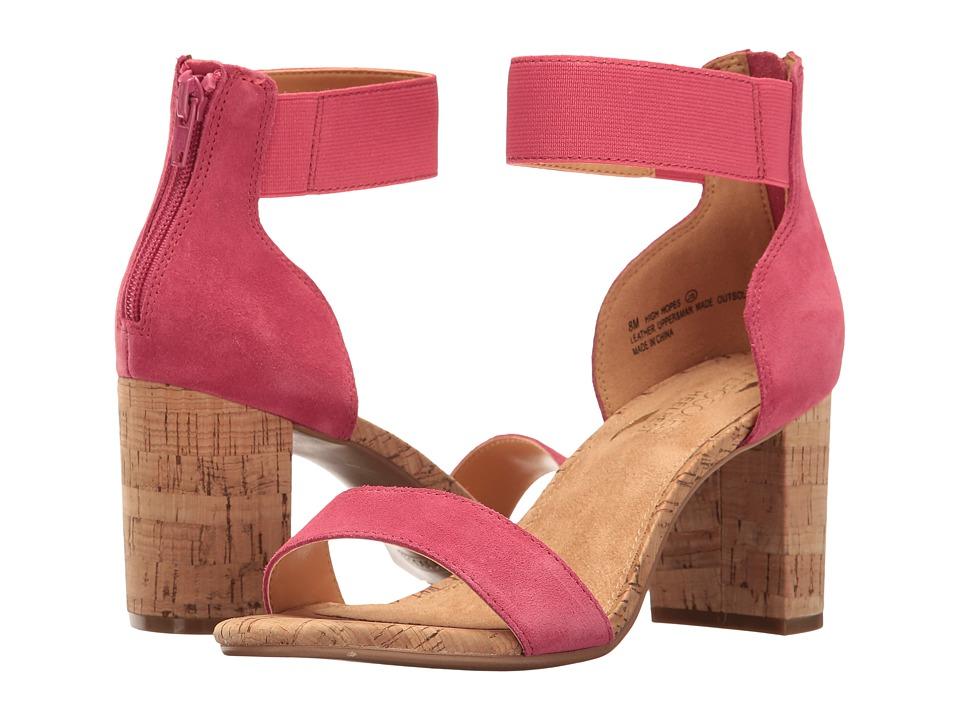 Aerosoles - High Hopes (Pink Combo) Women's Sling Back Shoes
