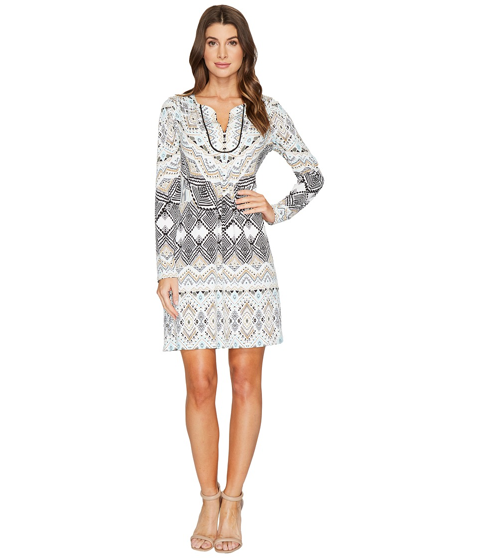 Hale Bob - Leisure Lover Microfiber Jersey Dress (Ivory) Women's Dress