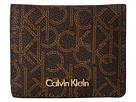 Calvin Klein Calvin Klein - Small Half Flap Monogram Wallet