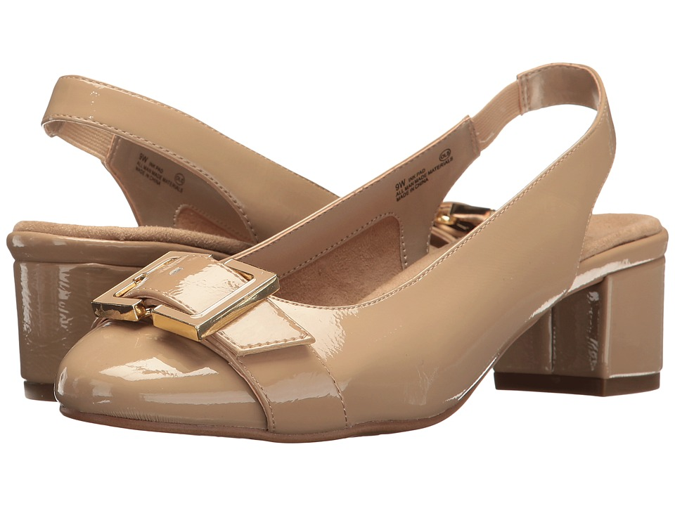 A2 by Aerosoles Ink Pad (Nude Patent) Women