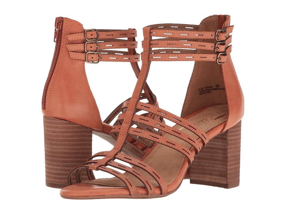 Aerosoles - Highway (Orange Leather) Women's Wedge Shoes