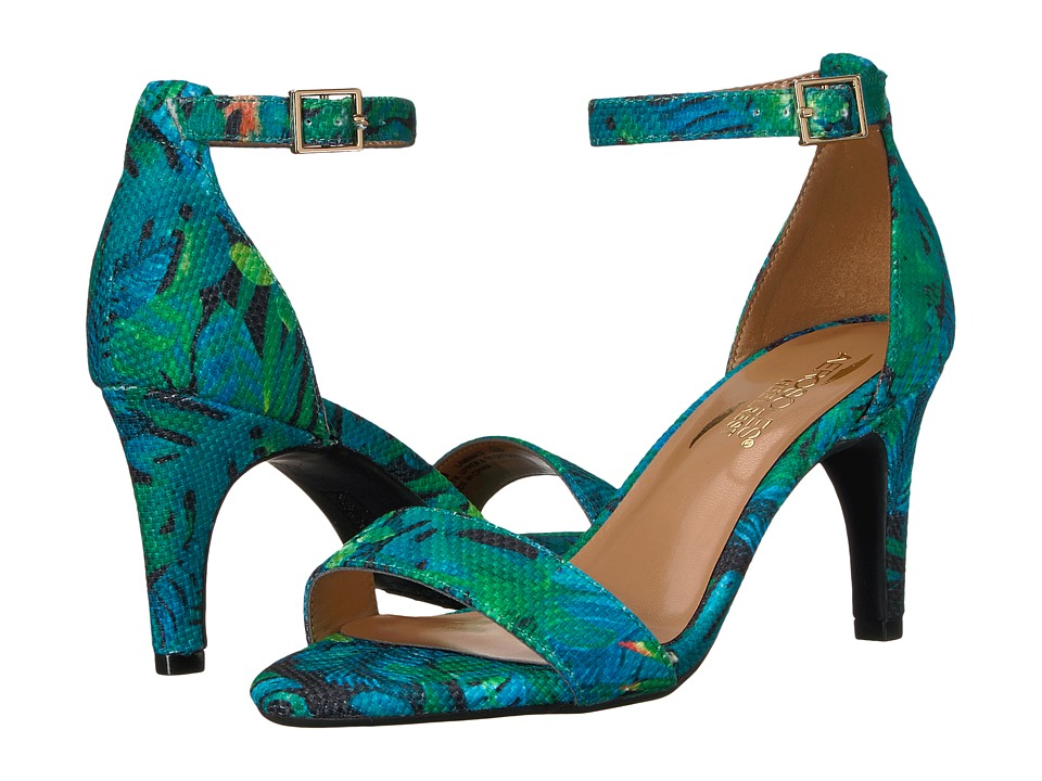 A2 by Aerosoles - Laminate (Blue/Green Combo) High Heels