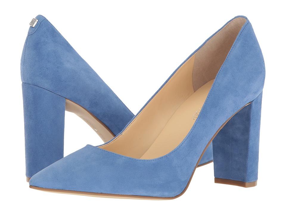 Ivanka Trump Katie (Blue Suede) High Heels