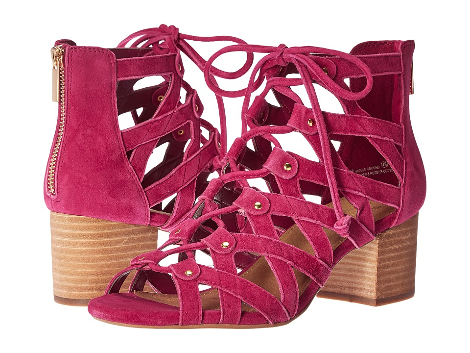 Aerosoles - Middle Ground (Dark Pink Suede) Women's Wedge Shoes
