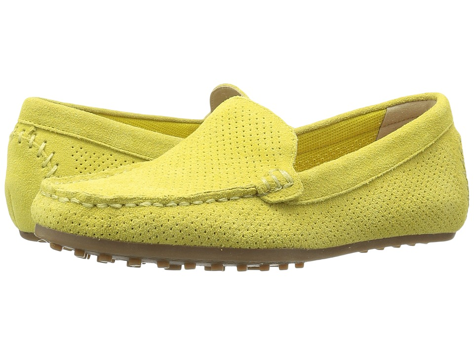 Aerosoles - Over Drive (Yellow Suede) Women's Slip on Shoes