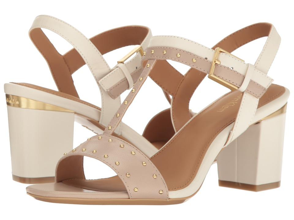 Calvin Klein Carline (Cocoon/Soft White Leather) Women