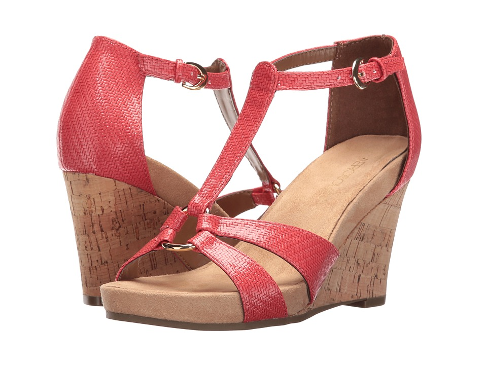 Aerosoles - Plush Ahead (Coral) Women's Wedge Shoes