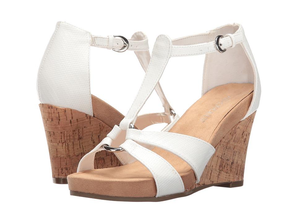Aerosoles - Plush Ahead (White) Women's Wedge Shoes