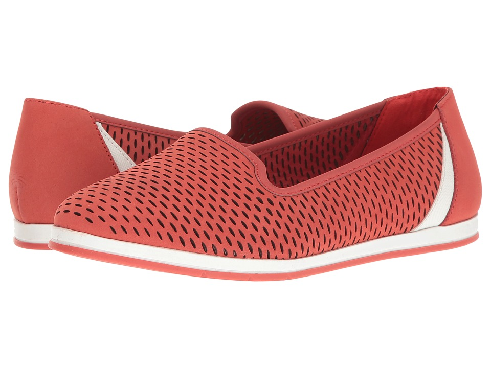 Aerosoles - Smart Move (Coral Nubuck) Women's Slip on Shoes