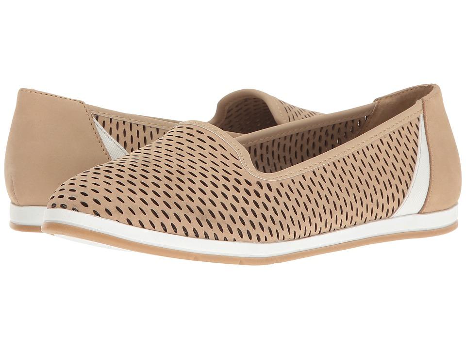 Aerosoles - Smart Move (Bone Nubuck) Women's Slip on Shoes