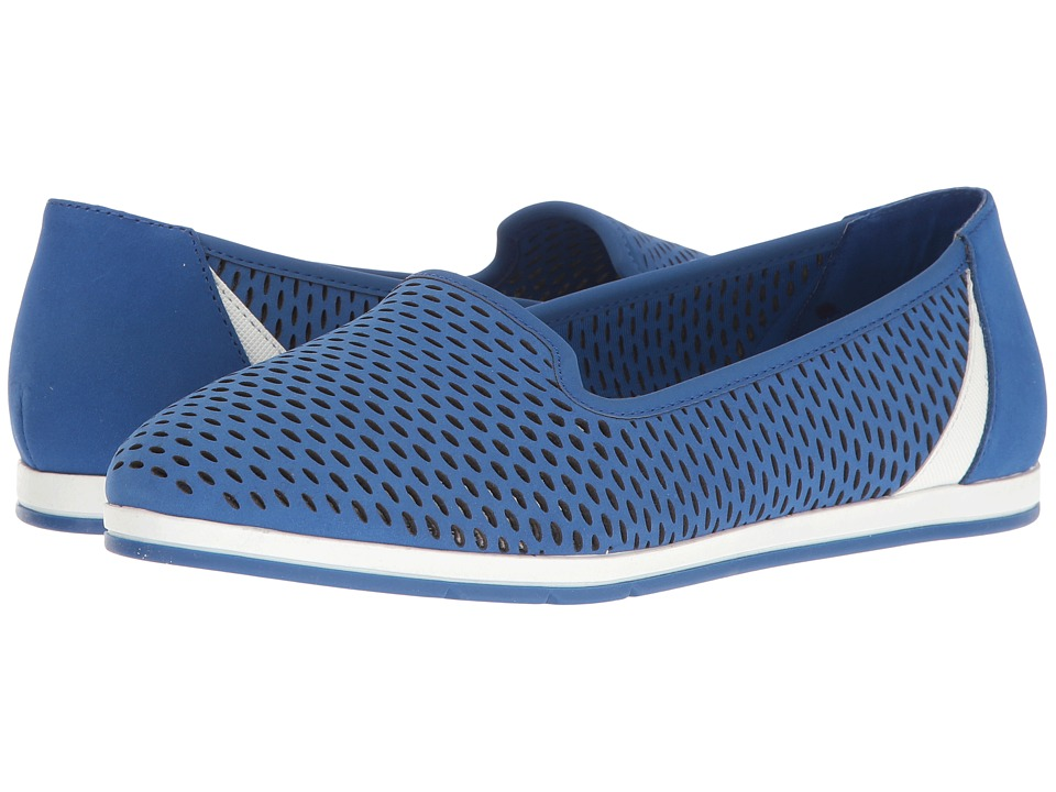 Aerosoles - Smart Move (Blue Nubuck) Women's Slip on Shoes