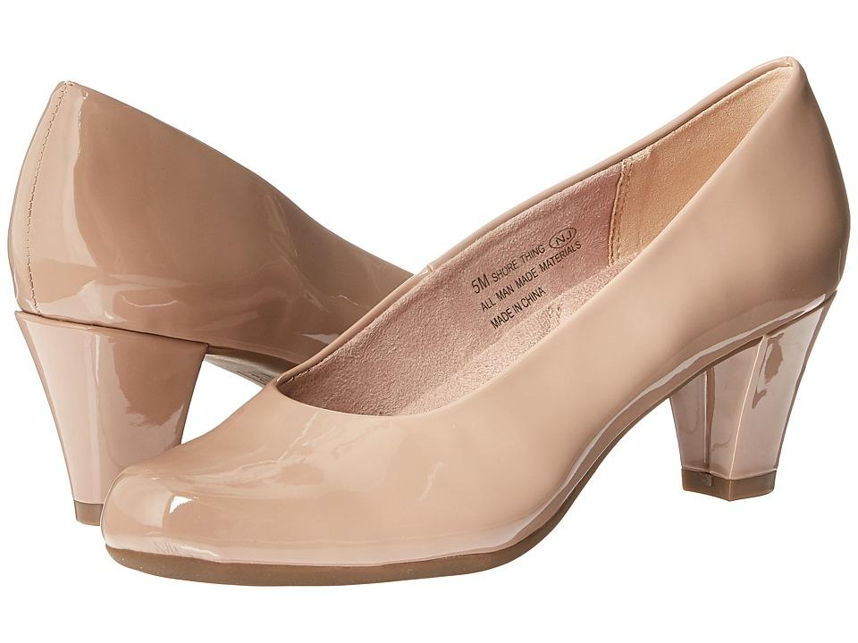Aerosoles - Shore Thing (Nude Patent) High Heels