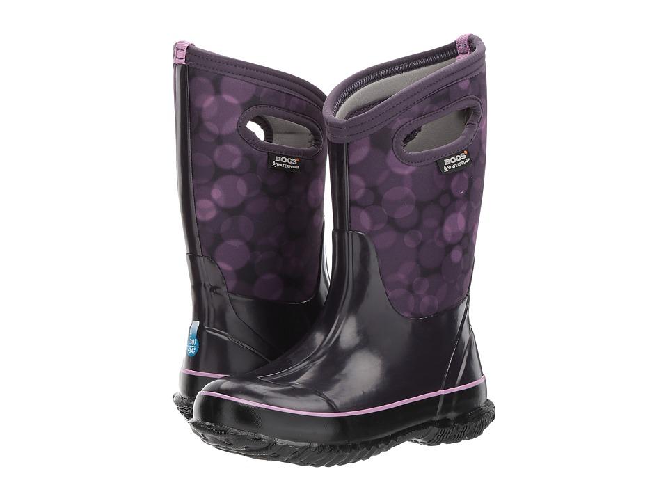 Bogs Kids Classic Rain (Toddler/Little Kid/Big Kid) (Eggplant Multi) Girls Shoes