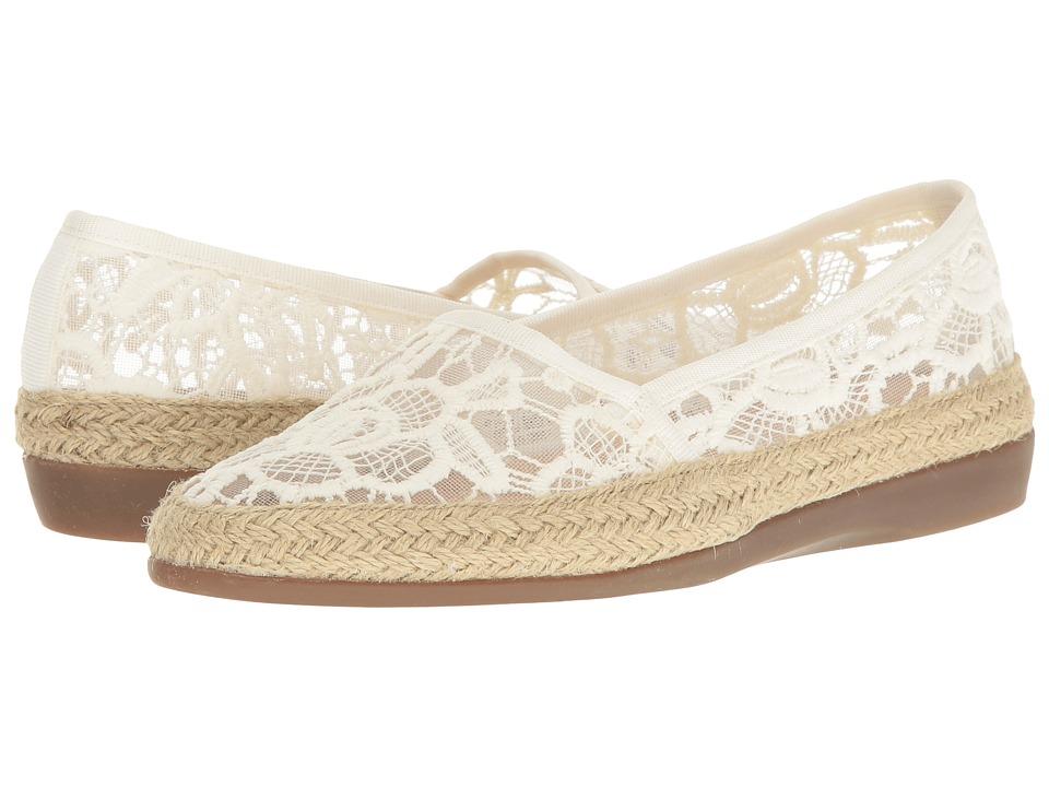Aerosoles - Trend Report (Bone) Women's Flat Shoes