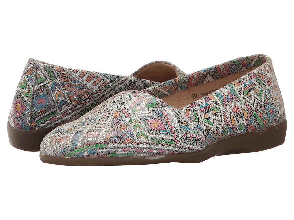 Aerosoles - Trend Setter (White/Blue Multi) Women's Flat Shoes