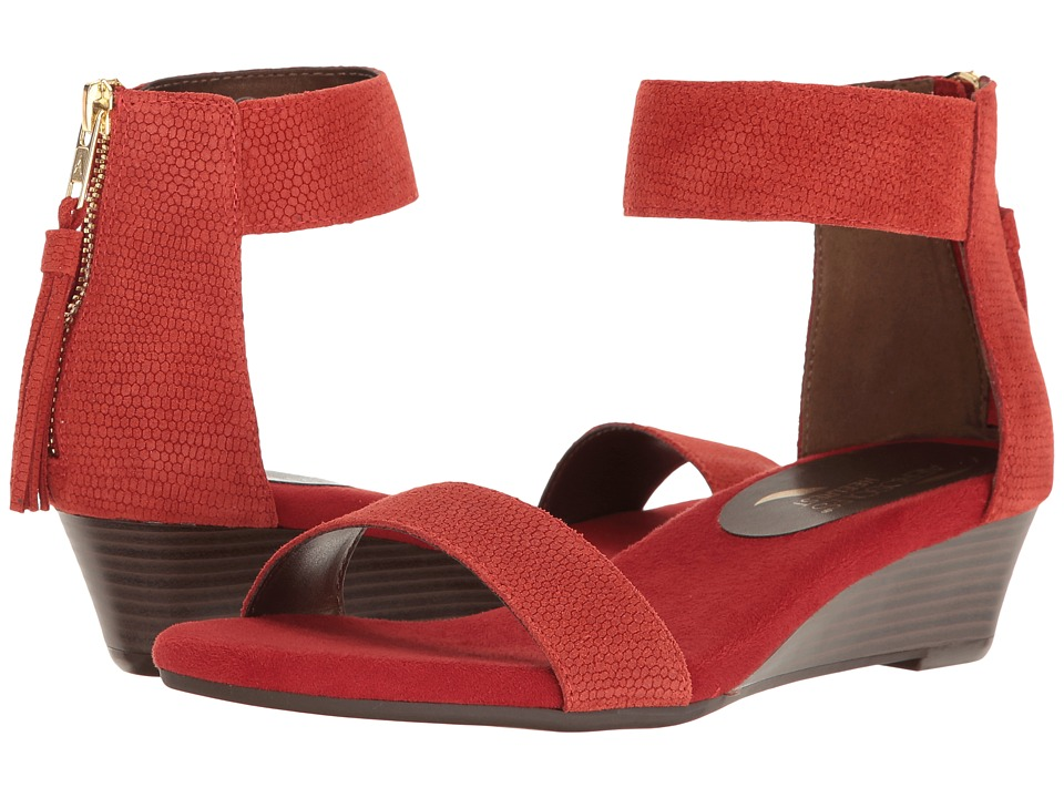 Aerosoles - Yetroactive (Red Suede) Women's Dress Sandals