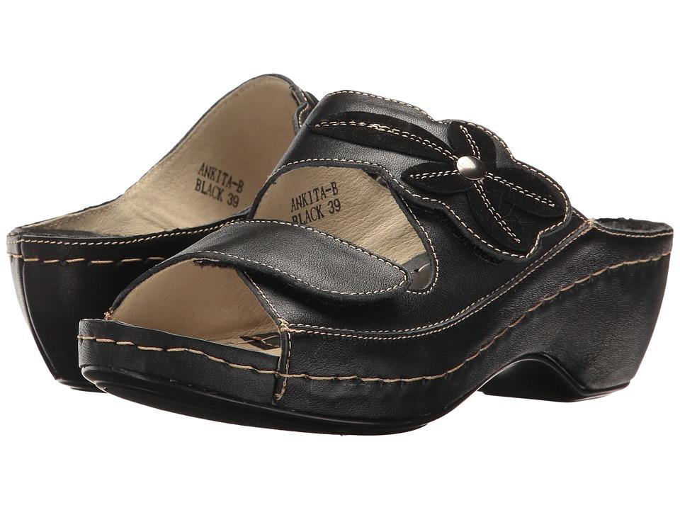 Spring Step - Ankita (Black) Women's Shoes
