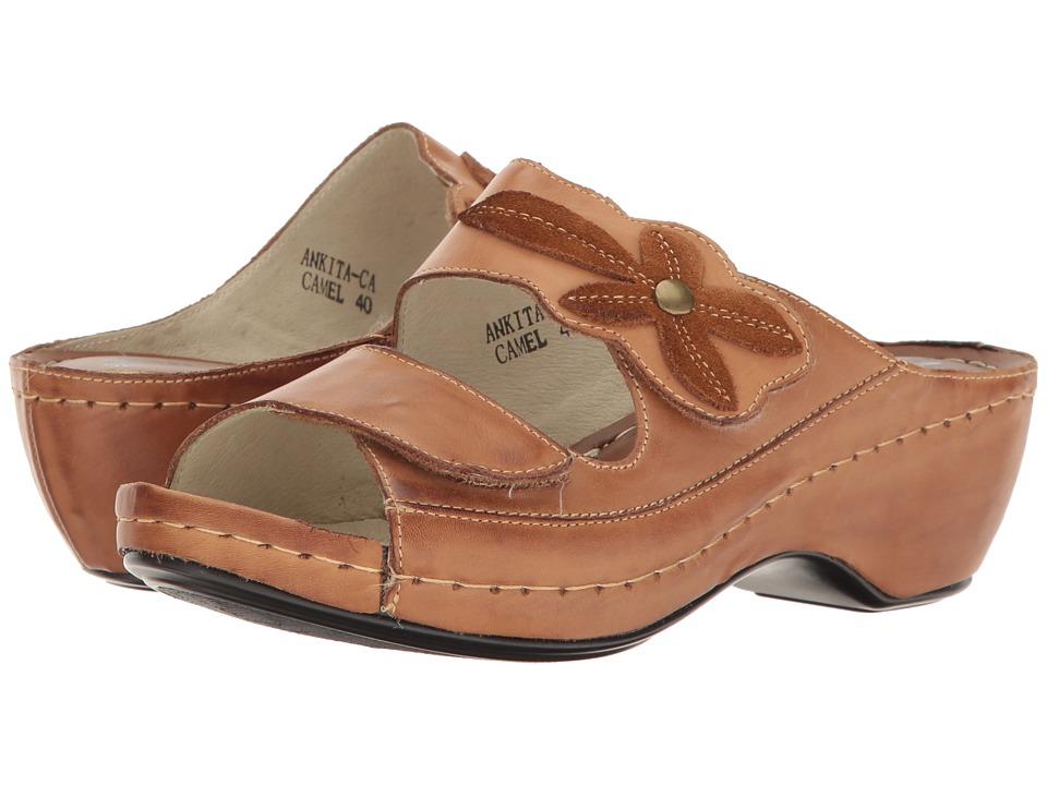 Spring Step - Ankita (Camel) Women's Shoes