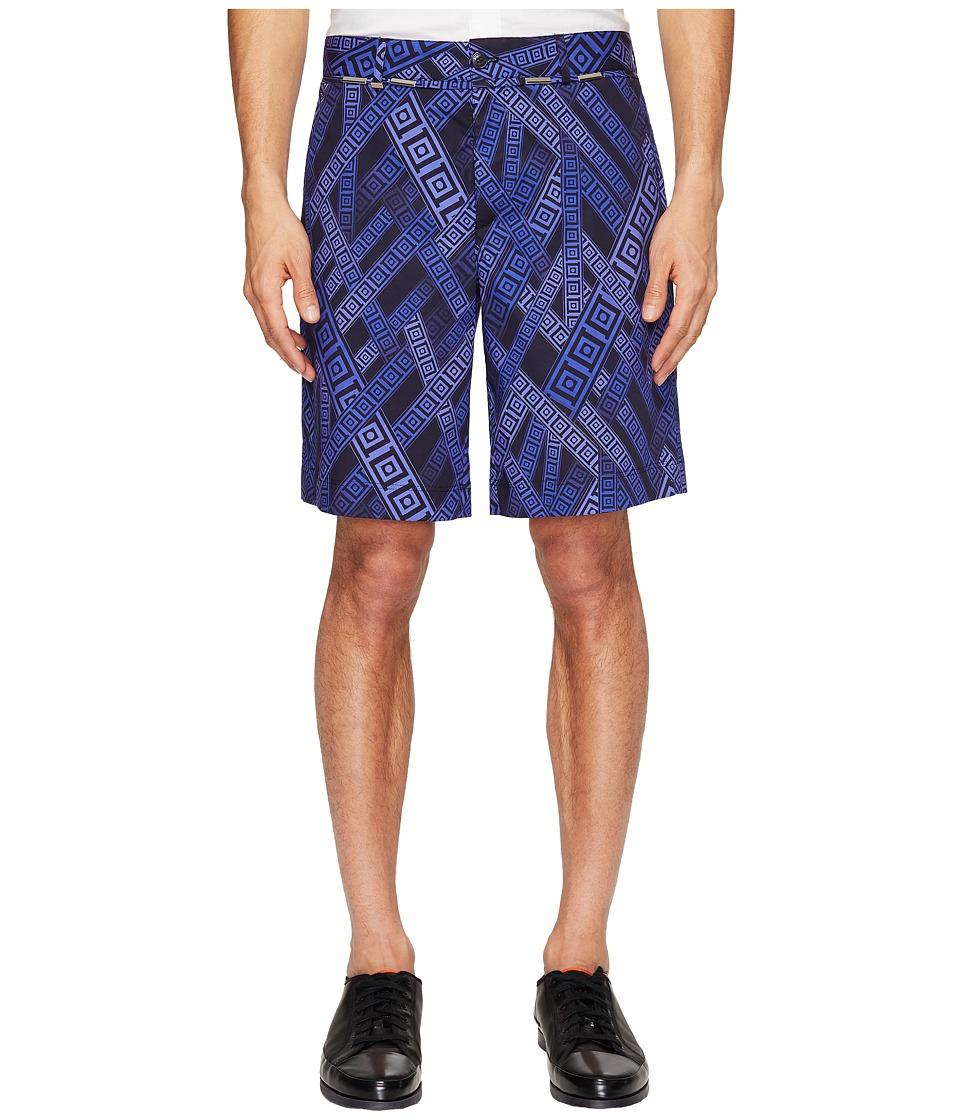 Versace Collection - Printed Shorts (Viola/Stampa) Men's Shorts