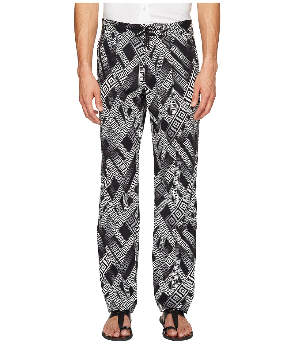 Versace Collection - Printed Trousers (Nero/Stampa) Men's Casual Pants