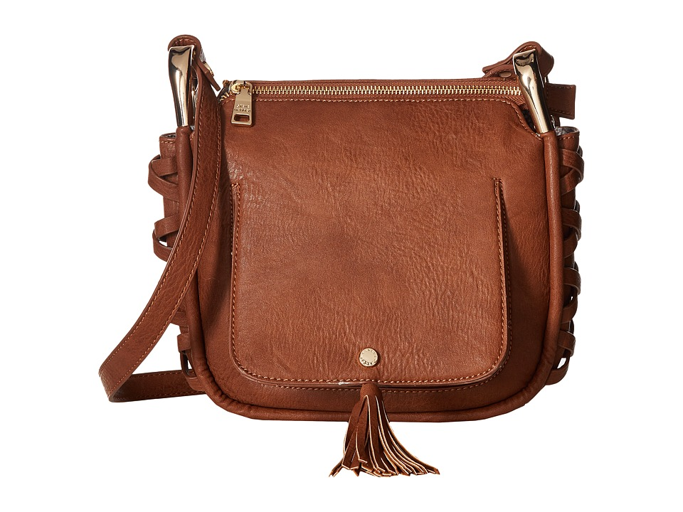 Steve Madden - Bhadley (Cognac) Cross Body Handbags