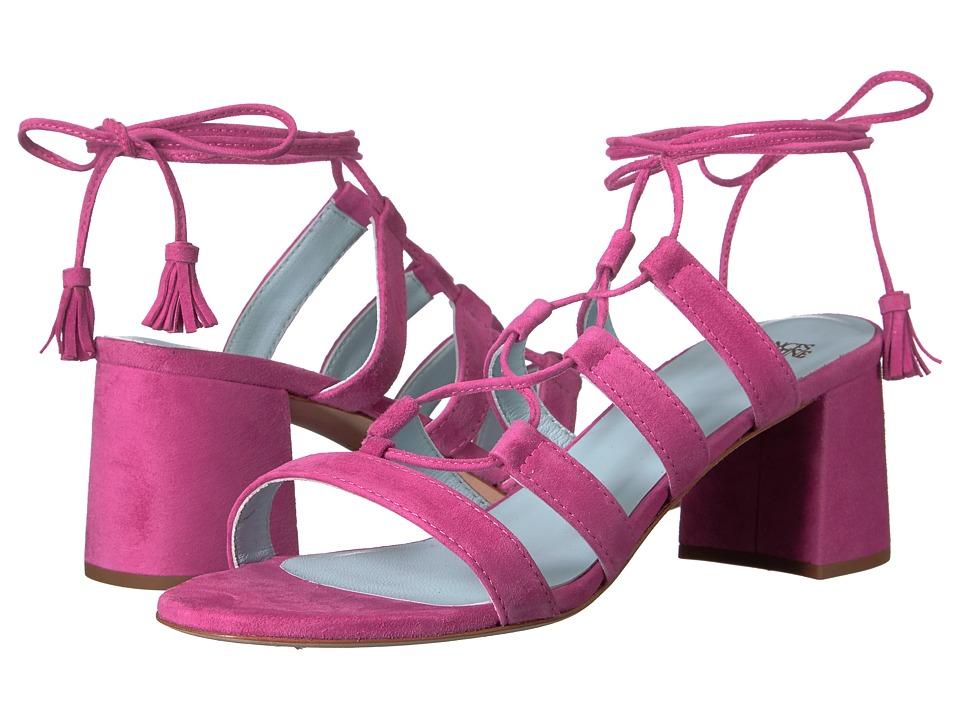 Frances Valentine - Jade (Pink Suede) Women's Shoes