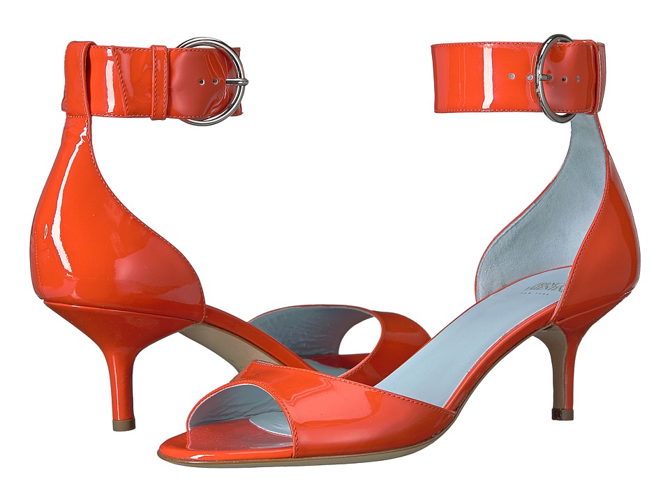 Frances Valentine - Lizzie (Orange Patent) Women's Shoes