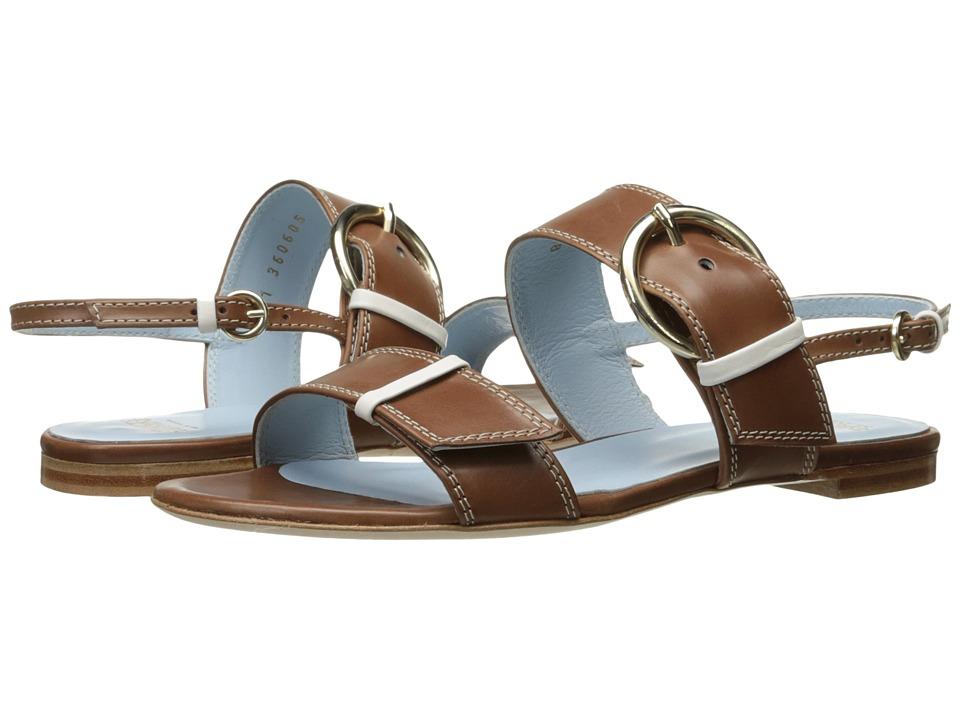 Frances Valentine - Faith (Tobacco/White) Women's Shoes