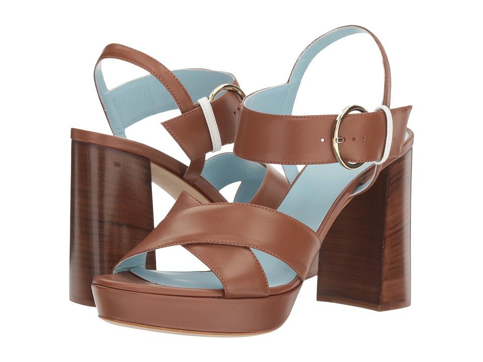 Frances Valentine - Dizzie (Tobacco/White) Women's Shoes