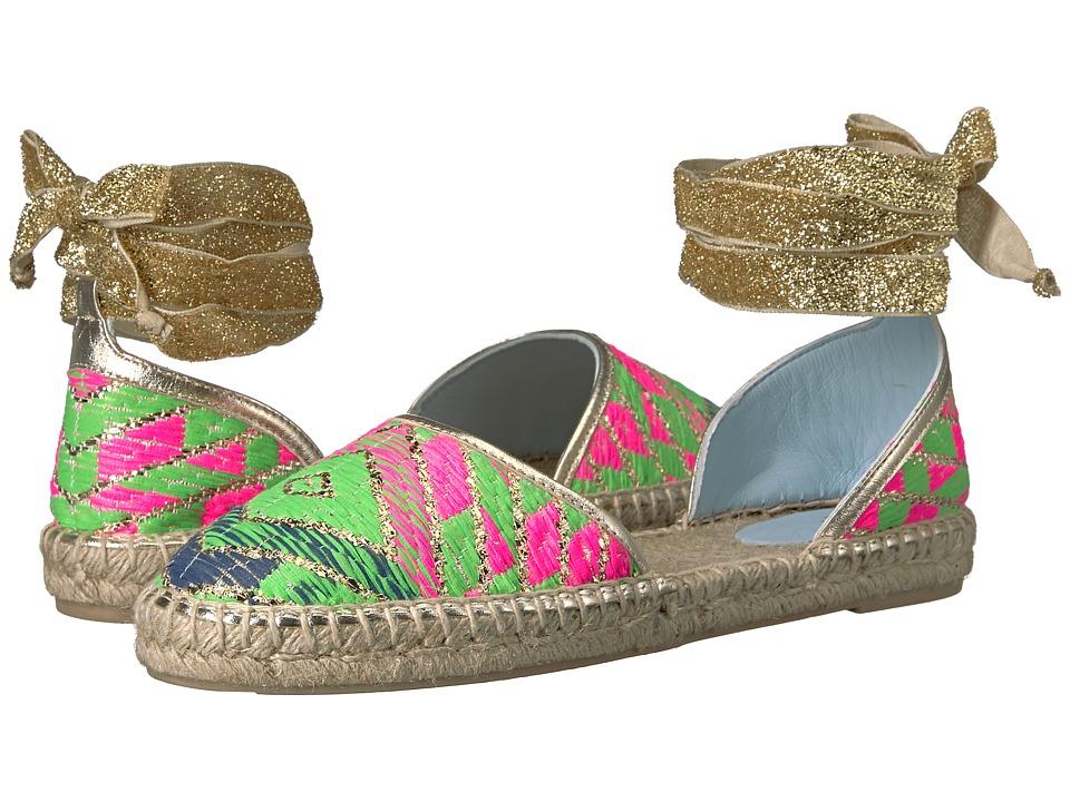 Frances Valentine - Jane 2 (Multi Print Jaquard) Women's Shoes