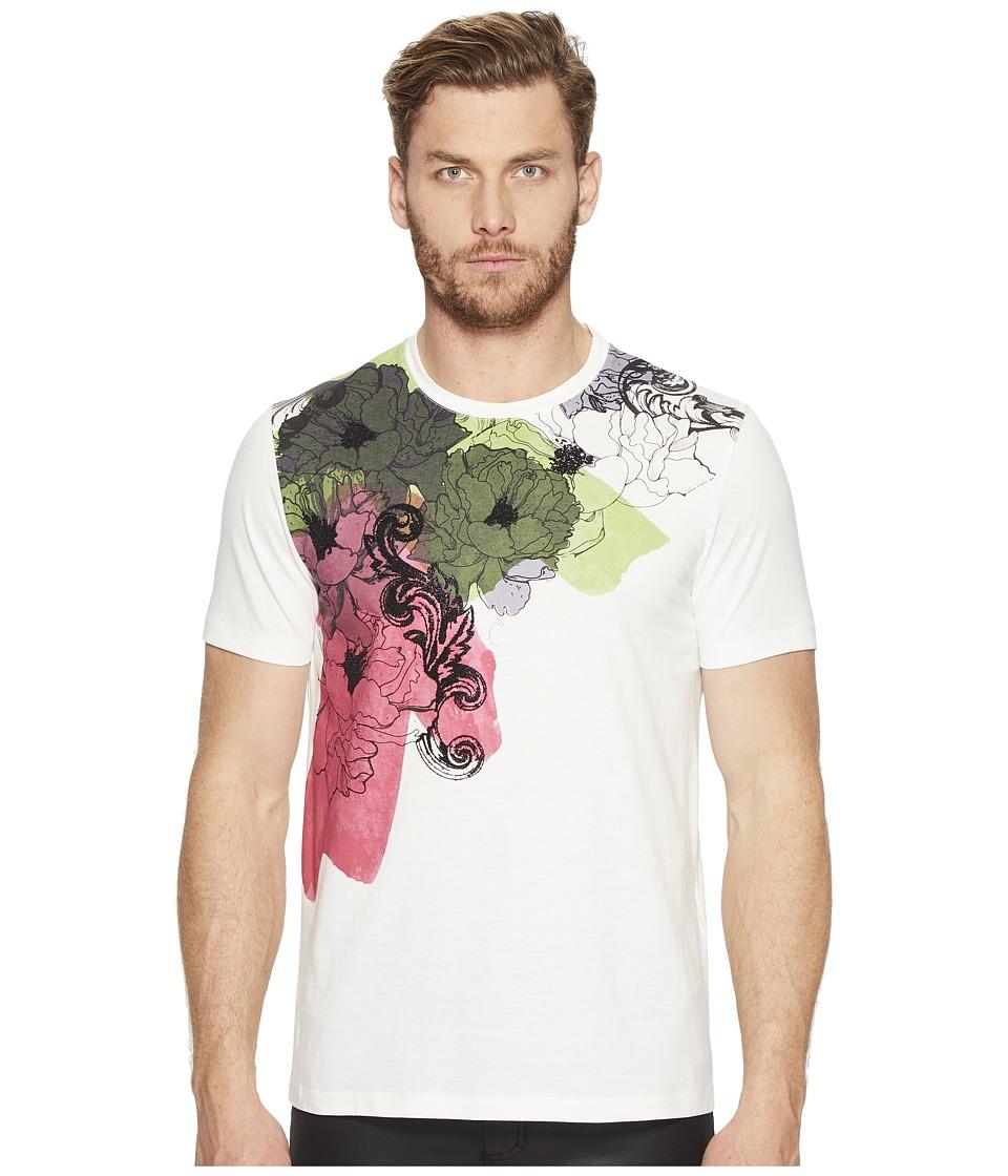 Versace Collection Printed T-Shirt (Bianco/Stampa) Men