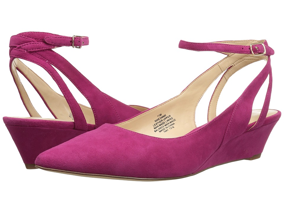 Nine West - Esmme (Pink Suede) Women's Shoes