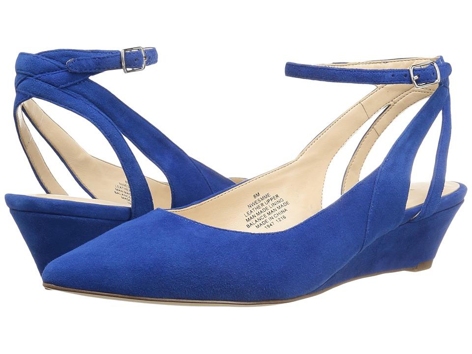 Nine West - Esmme (Blue Suede) Women's Shoes