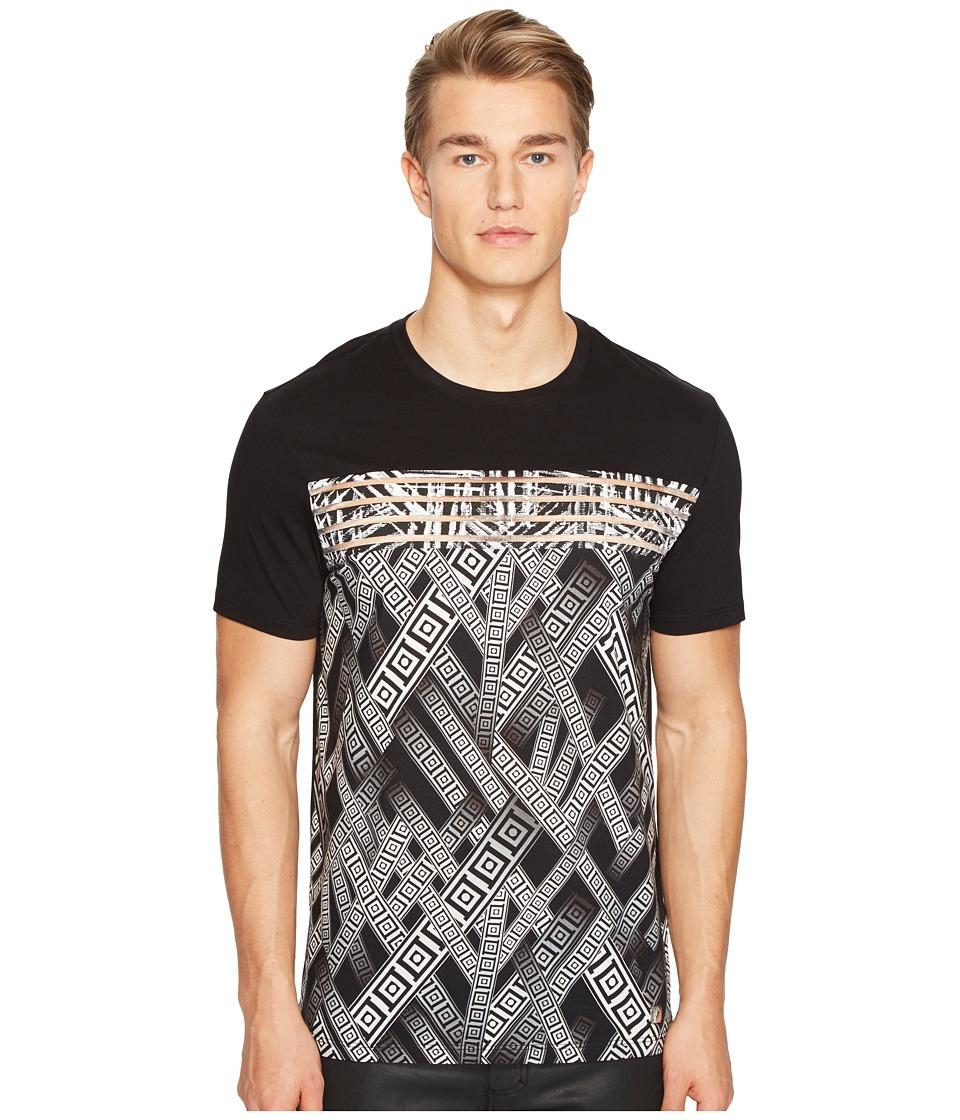 Versace Collection Printed T-Shirt (Nero/Stampa) Men