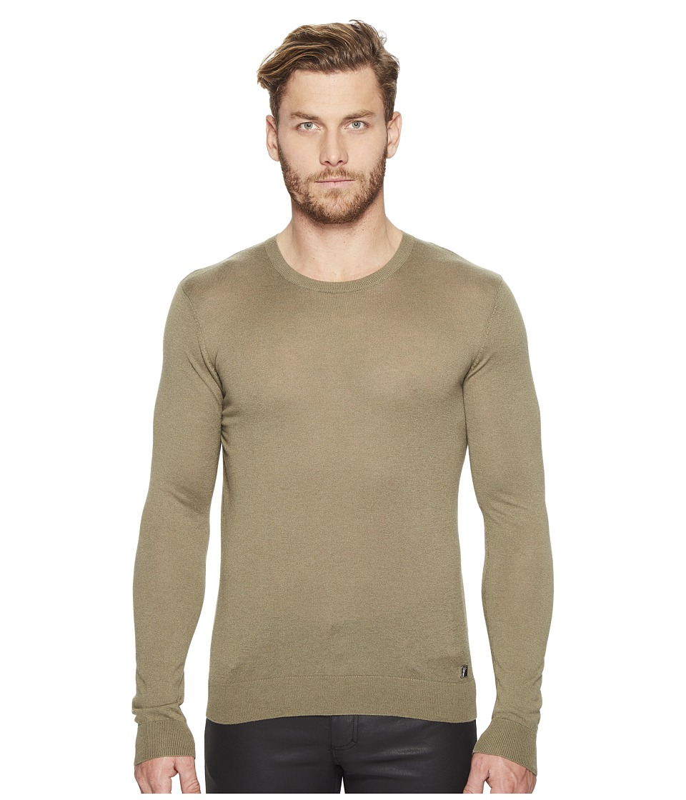 Versace Collection - V-Neck Sweater (Verde) Men's Sweater